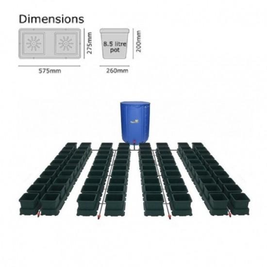 Autopot EASY2GROW 80 Saksılı Otomatik Sulama Sistemi – 8.5 Litre