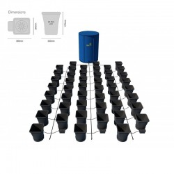 Autopot-XL 48 Saksılı Otomatik Sulama Sistemi - 25Litre