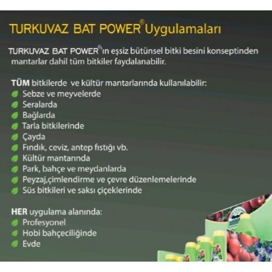Organik Sıvı Yarasa Gübresi - Turkuvaz Bat Power 20 Litre