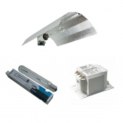 Philips 1000W Lamba-Balast-Reflektör Set / HPS