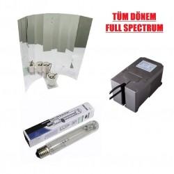 Philips 600W Ampül - Kutulu Balat - Reflektör Set - Mh-Hps (TÜM DÖNEM)