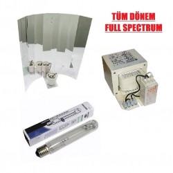 PHİLİPS - 600W Mh-Hps (TÜM DÖNEM) Lamba-Balast-Reflektör Set