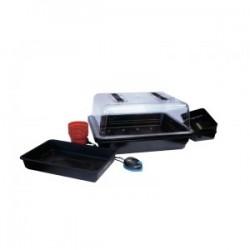 Sıcaklık Ayarlı Isıtmalı Mini Sera (52X42X28cm)