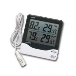 Sıcaklık Nem Ölçer - Max-Min İç Dış Termo-Higrometre